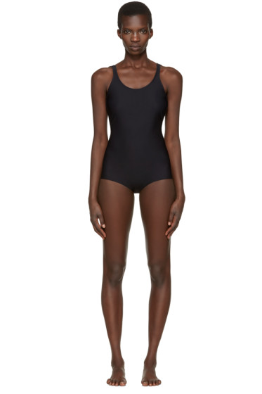 Acne Studios - Black Halla Open Back Swimsuit