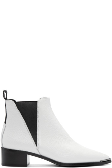 Acne Studios - White Jensen Grain Boots