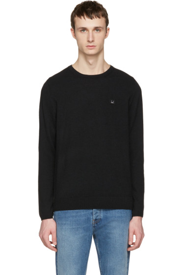 Acne Studios - Black Dasher O Face Sweater