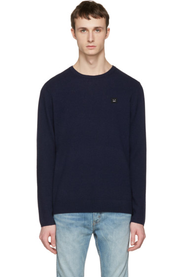 Acne Studios - Navy Dasher O Face Sweater