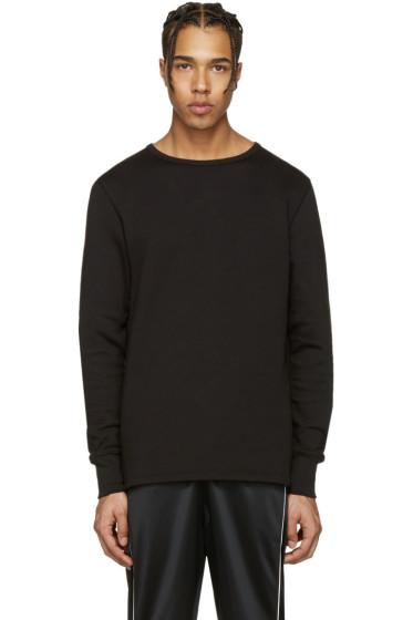 Acne Studios - Black Finish Sweatshirt