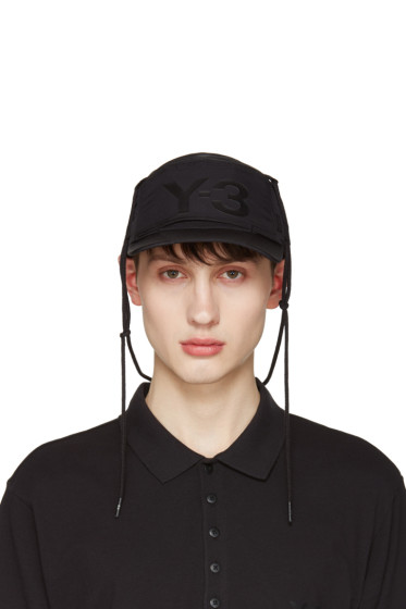 Y-3 - Black Multif Cap