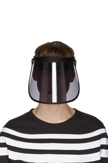 Y-3 - Black Oversized TPU Visor