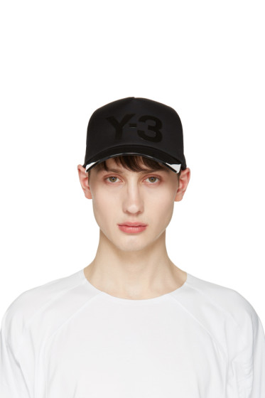 Y-3 - Black Translucent Brim Cap