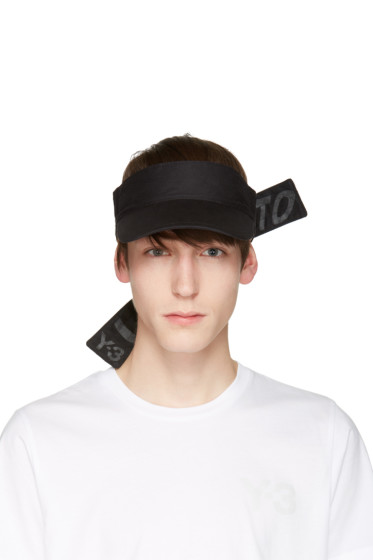 Y-3 - Black Slogan Visor