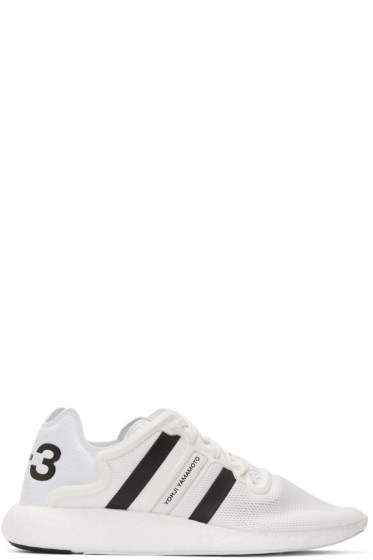 Y-3 - White Yohji Run Sneakers