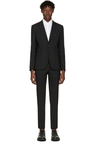 Dsquared2 - Black Wool Paris Suit