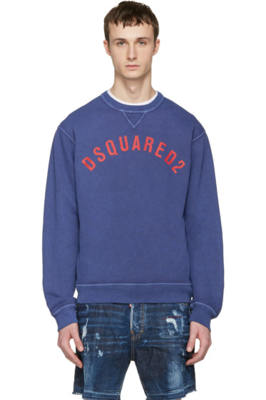 Dsquared2 - Navy Logo Pullover