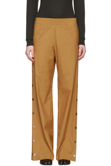 Maison Margiela - Tan Side Snap Trousers