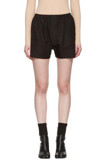 Maison Margiela - Black Boxer Shorts