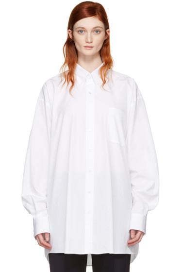 Maison Margiela - White Oversized Shirt