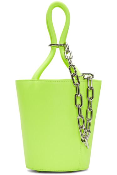 Alexander Wang - Yellow Mini Roxy Bucket Bag