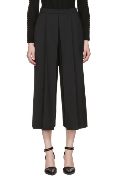 Alexander Wang - Black Cropped Tailored Trousers