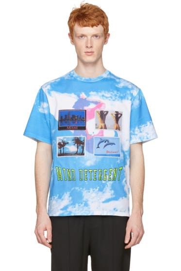 Alexander Wang - Blue Postcard T-Shirt
