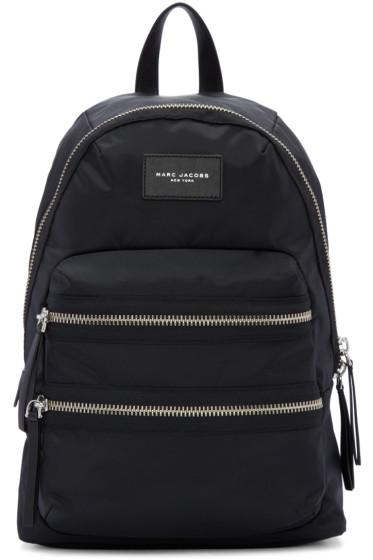 Marc Jacobs - Black Nylon Biker Backpack
