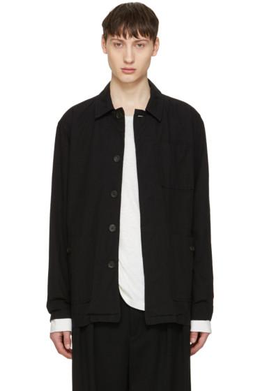 Robert Geller - Black Cotton Jacket