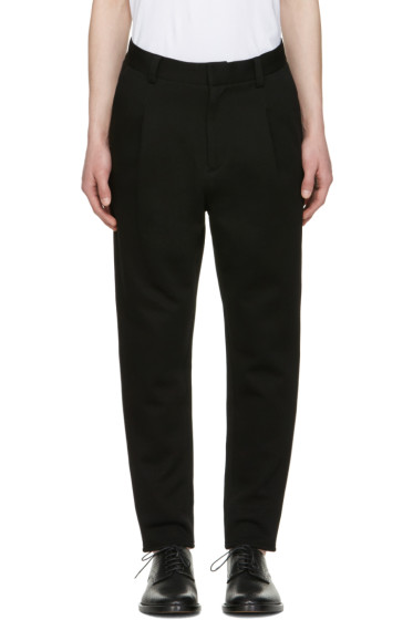 Robert Geller - Black Paul Trousers
