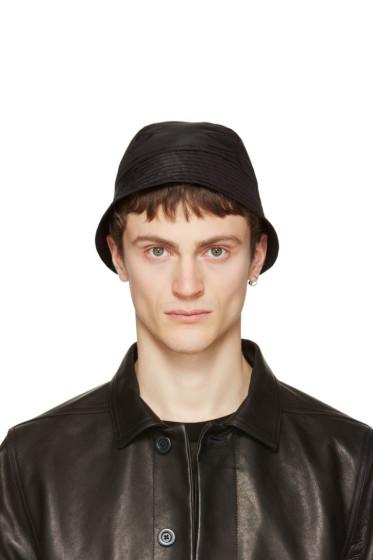 Rick Owens - Black Giligan Hat