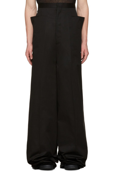 Rick Owens - Black Walrus Trousers