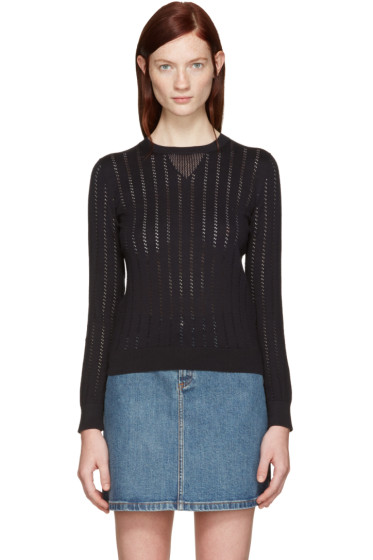 A.P.C. - Black Annabelle Pullover
