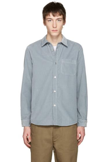 A.P.C. - Grey Corduroy Trevor Shirt