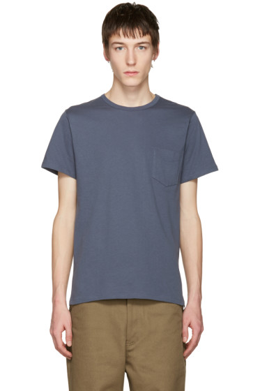 A.P.C. - Blue Pocket T-Shirt