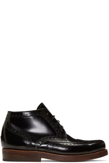 Junya Watanabe - Black Heinrich Dinkelacker Edition Lace-Up Boots