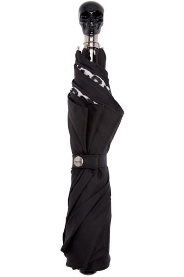 Alexander McQueen - Black Skull Umbrella