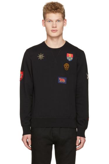 Alexander McQueen - Black Patches Pullover