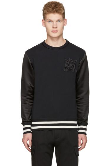 Alexander McQueen - Black Insignia Pullover