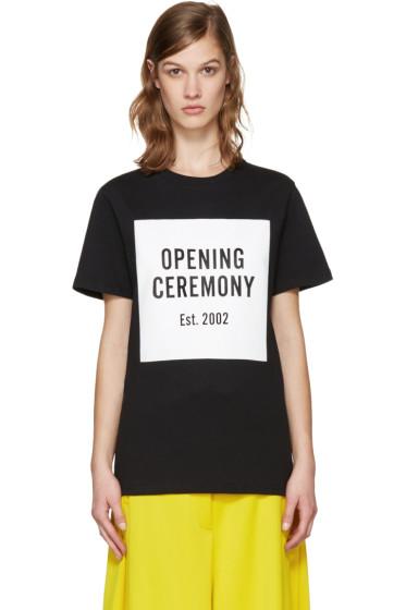 Opening Ceremony - Black Logo T-Shirt