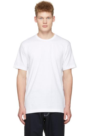 Comme des Garçons Shirt - White Back Logo T-Shirt
