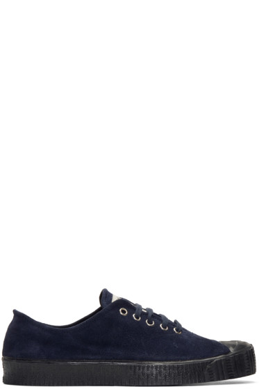 Comme des Garçons Shirt - Navy Spalwart Edition Special V Sneakers
