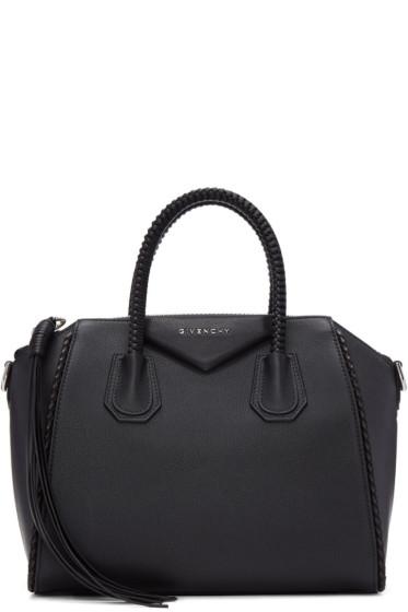 Givenchy - Black Small Braided Antigona Bag
