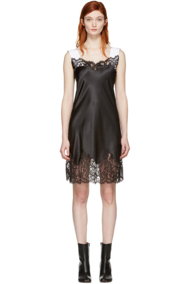 Givenchy - Black Satin Slip Dress