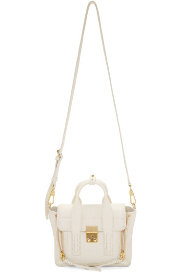 3.1 Phillip Lim - Off-White Mini Pashli Satchel