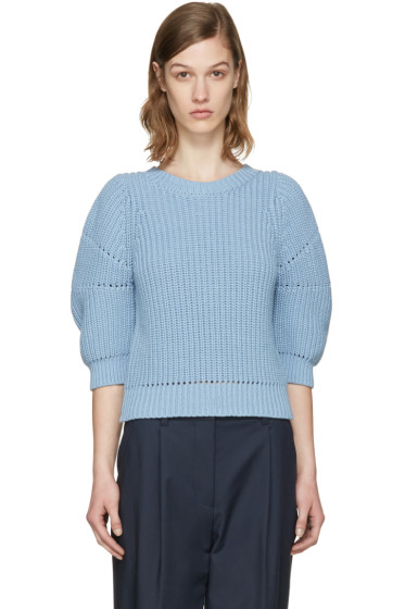 3.1 Phillip Lim - Blue Cotton Sweater