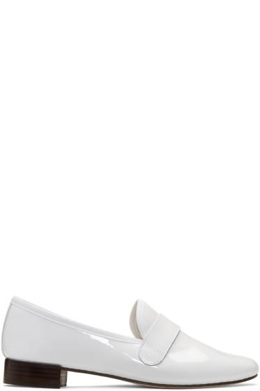 Repetto - White Michael Loafers