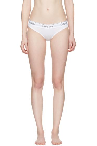 Calvin Klein Underwear - White Modern Bikini Briefs