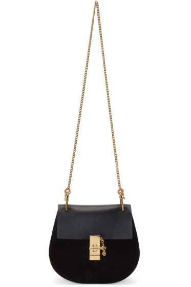 Chloé - Black Small Drew Saddle Bag
