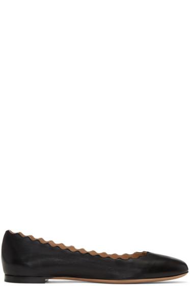 Chloé - Black Lauren Ballerina Flats