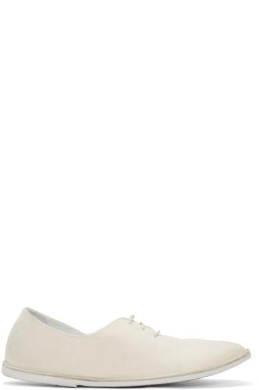 Marsèll - White Strasacco Oxfords