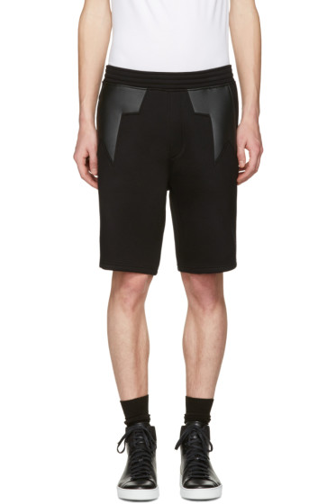 Neil Barrett - Black Star Shorts