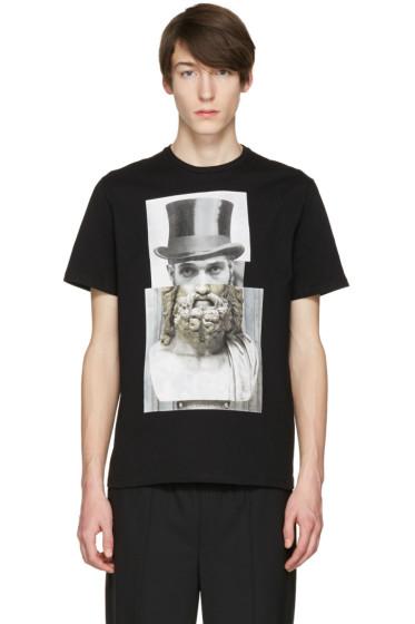 Neil Barrett - Black Top Hat T-Shirt