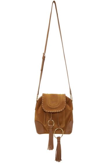 See by Chloé - Tan Polly Shoulder Bag