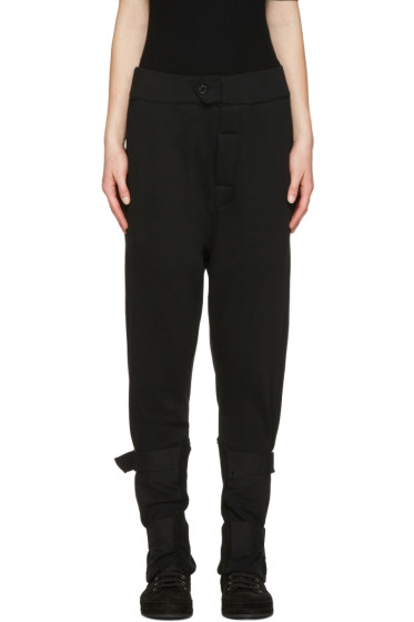 Ann Demeulemeester - Black Straps Rodger Lounge Pants