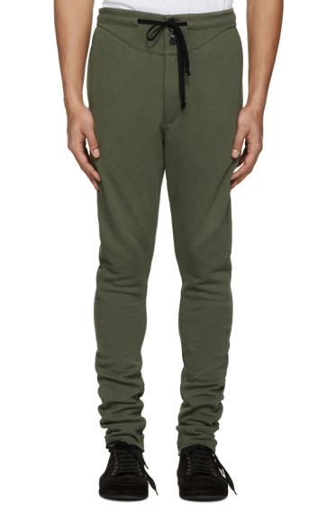 Ann Demeulemeester - Green Button Lounge Pants