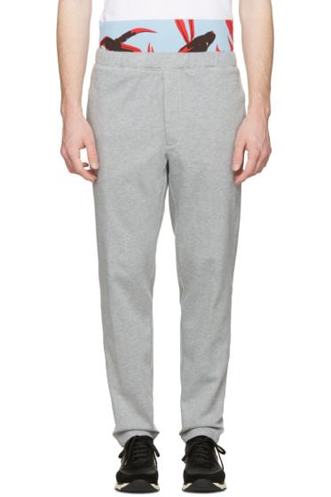 Marni - Grey Cotton Lounge Pants
