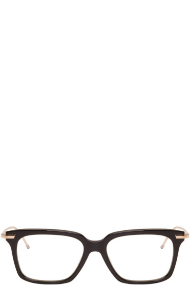 Thom Browne - Black & Gold TB 701 Glasses