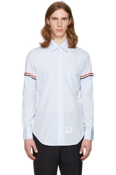 Thom Browne - Blue Grosgrain Classic Shirt